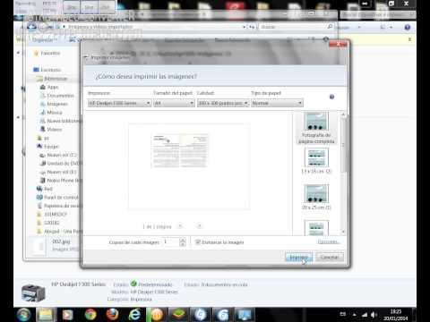 Impresora.Escanear documentos otros windows 7  -  Enero 2014