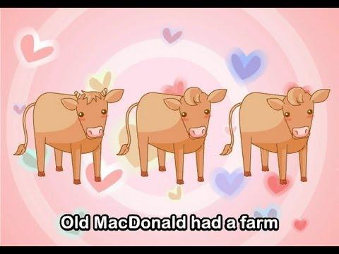 Muffin Songs – Old MacDonald Had A Farm  İngilizce Tekerlemeler ve İngilizce Çocuk Şarkılar