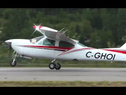 Cessna 177 Cardinal Takeoff