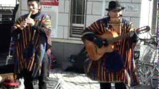 Peruvian Band Busking At Kanayama Station Nagoya ペルーの音楽 view on youtube.com tube online.