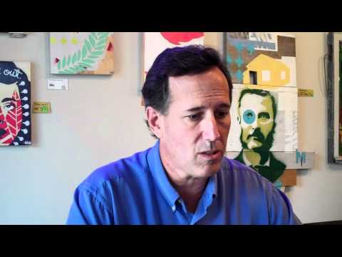 Rick Santorum Interview - Education and Race to the Top