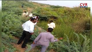 Leopard Tiger Wandering Bhadradri Kothagudem Palwancha Suraram Village l CVR NEWS - CVRNEWSOFFICIAL
