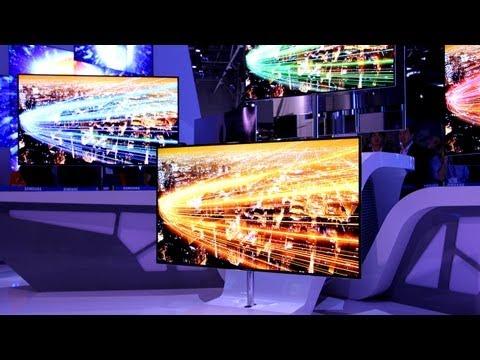 Samsung Super OLED Ultimate TV CES 2012