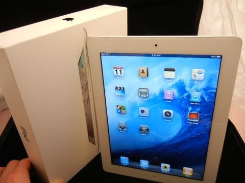Apple iPad 2 White Unboxing & Hands-On