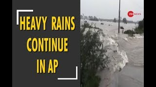 Heavy rains continue to lash parts of Andhra Pradesh - ZEENEWS
