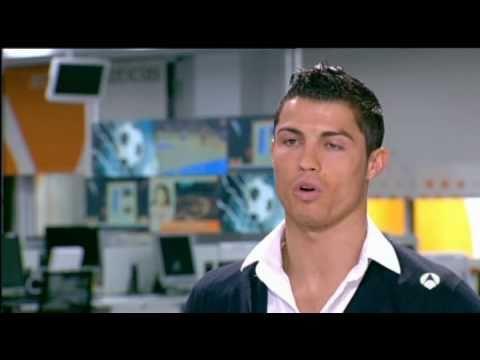 Entrevista completa de Cristiano Ronaldo en Antena 3
