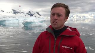 Greenpeace Scientists on Fact-Finding Antarctic Mission - VOAVIDEO