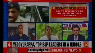 'Natak' in Karnataka: Missing MLA Pratap Patil meets Venugopal; BS Yeddurappa to resign as a CM - NEWSXLIVE