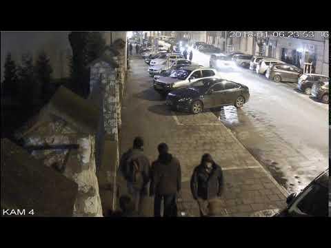 Nagranie z monitoringu, na którym widać zaginionego Piotra Kijankę