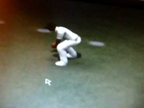 Funny wicket in EA Cricket 2011 (TM)