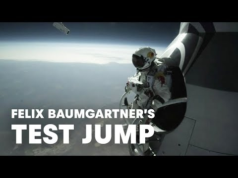 El salto de Felix Baumgartner