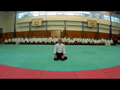 Takashi Kuroki (Nishio Aikido) Pardubice Seminar 2015 May Timelapse Video