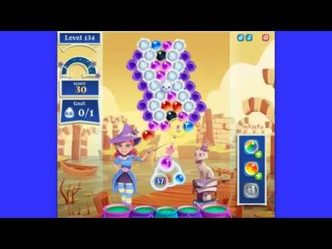 Bubble Witch Saga 2 level 134