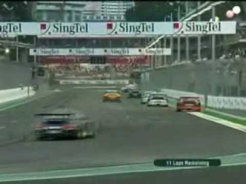 Porsche Carrera Cup Asia 2008.Highlights from Singapore