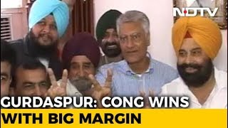 In Punjab Prestige Battle, Congress Wrests Gurdaspur From BJP - NDTV