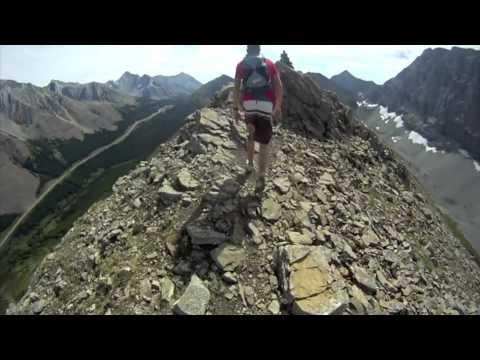 GoPro Hiking - Pocaterra Ridge, Alberta