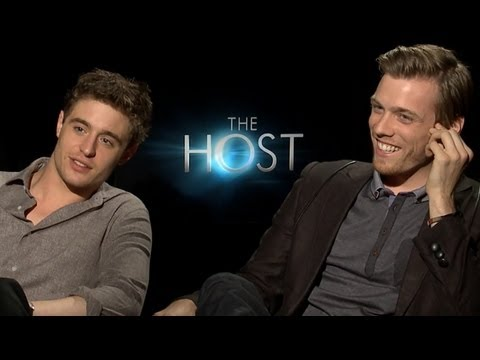 Max Irons & Jake Abel 'The Host' Interview - Bromance, Kissing & More