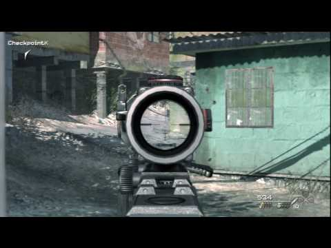 07. Call of Duty: Modern Warfare 2 - HD Veteran Difficulty Walkthrough - Takedown part 1/2