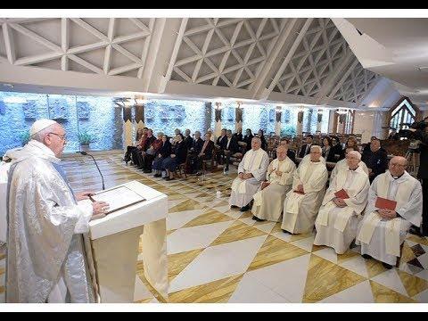 Thánh lễ tại nhà nguyện Marta, 21.05.2018: Giáo Hội là người nữ và người mẹ, như Mẹ Maria