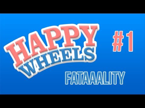 "Let's Play : Happy Wheels #1 ""Wesołe kółeczka !"""