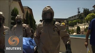 After Syria sarin attack, doctors train to treat chemical weapons victims - REUTERSVIDEO