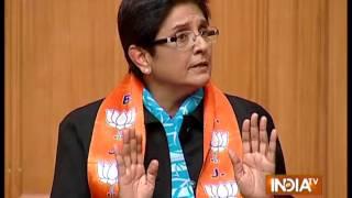 Even  a Thaanedar is be a leader- Kiran Bedi - INDIATV