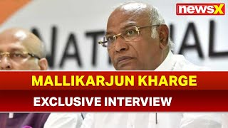 Lok Sabha Elections 2019: Mallikarjun Kharge Exclusive Interview, hits out at BJP Government - NEWSXLIVE