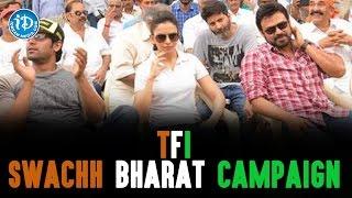 TFI Swachh Bharat Campaign At Hyderabad - IDREAMMOVIES