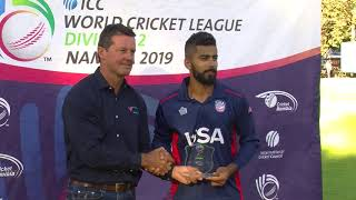 Namibia v USA Cricket Highlights | World Cricket League - CRICKETWORLDMEDIA