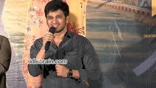 Arjun Suravaram press meet - idlebrain.com - IDLEBRAINLIVE