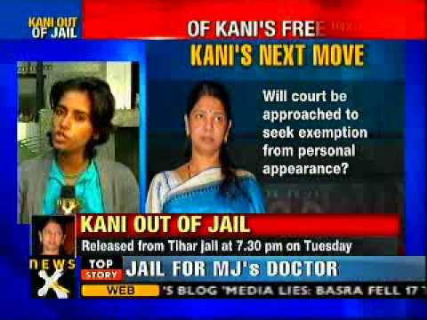 2G scam: Kanimozhi receives warm welcome