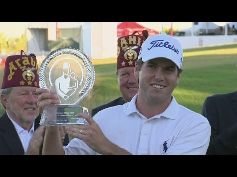 Ben Martin's late eagle leads to victory at Shriners