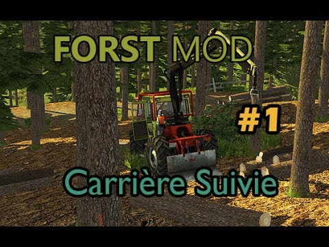 [FS2013] Forst mod Exploitation forestière carrière suivie