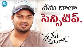 I Am A Very Sensitive Person - Manchu Manoj || Talking Movies || #OkkaduMigiladu - IDREAMMOVIES