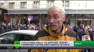 Thousands rally for publicly wearing kippahs amid fears of anti-Semitism in Berlin - RUSSIATODAY
