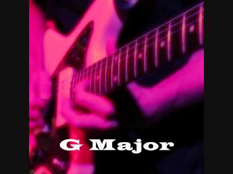 G Major Scale (Ionian) - Uptempo Feel Good Backing Track