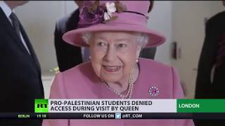 'Security threat'? Pro-Palestinian students denied access to campus during Queen's visit - RUSSIATODAY