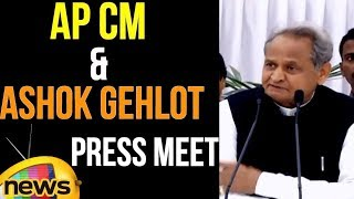 AP CM Chandrababu Naidu And Ashok Gehlot Press Meet | Anti NDA Alignment | Mango News - MANGONEWS