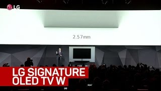 LG debuts amazingly thin OLED TV