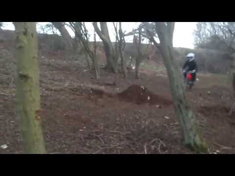 49cc Dirt Bike jump