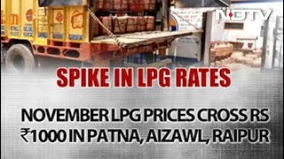 Domestic LPG Cylinder Price Breaches Rs 1,000 Mark - NDTV