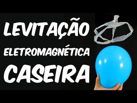 Experiência: Levitação eletromagnética caseira