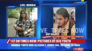 Arif Majeed highly radicalised: MHA - TIMESNOWONLINE