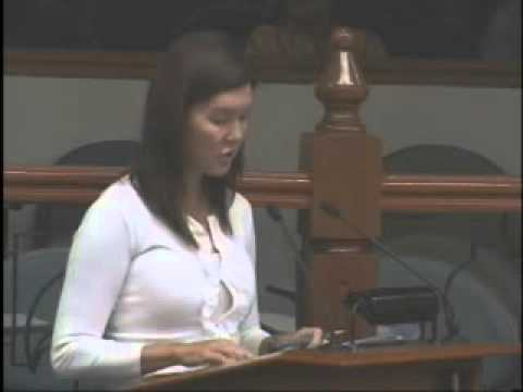 Sen Pia on Tobacco Regulation Act violations