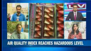 NewsX reality check on quality of air in Delhi - NEWSXLIVE