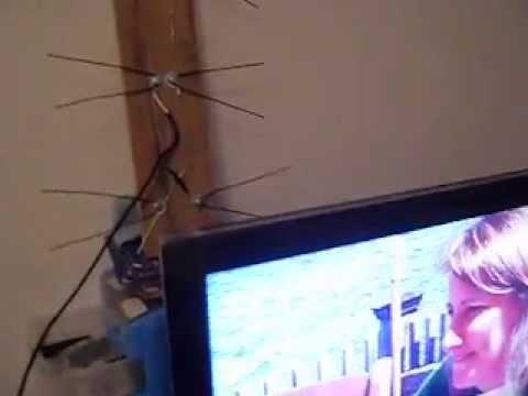 Antena casera para TVHD si funciona
