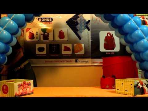 TDB - Telas da Bonus - Colocando os balões no arco