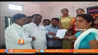 సర్వ సభ్య సమావేశాలను బహిష్కరించిన సర్పంచులు In Jannaram | Mancherial | iNews - INEWS