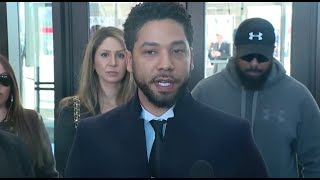 Watch soon: Actor Jussie Smollett, lawyers to make statement in Chicago court - WASHINGTONPOST