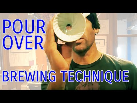 Pour Over Brewing Technique